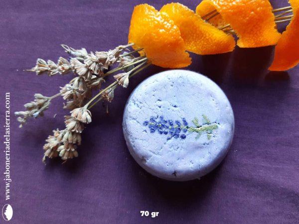 "Champú sólido ""Little Lavender"" apto método curly"